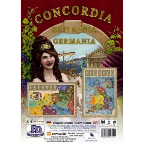 Concordia: Britannia & Germania kiegészítő