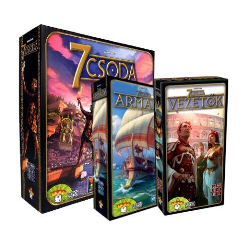 7 Csoda - 7 Wonders - magyar kiadás társasjáték