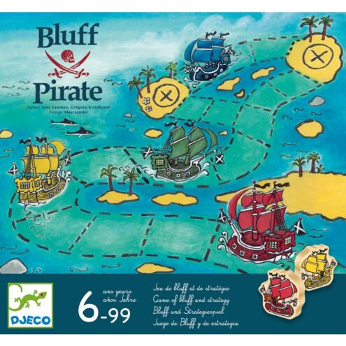 Bluff Pirate - Blöffölős társasjáték - Bluff Pirate - Djeco