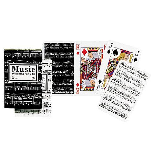 Zene römikártya 1×55 – Piatnik