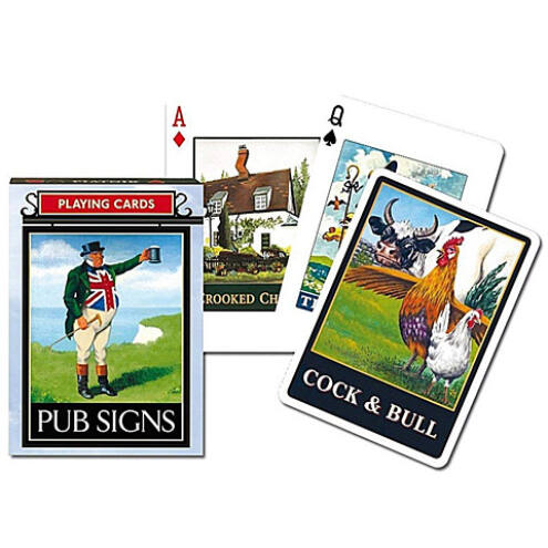 Exkluzív römi kártya – Pub Signs 1×55 lap – Piatnik