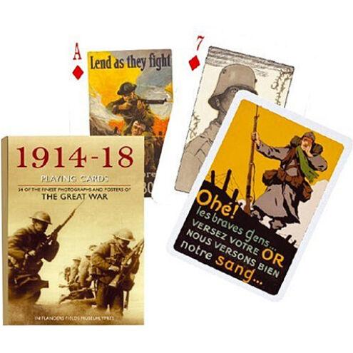 Exkluzív römi kártya – I. Világháború 1×55 lap – Piatnik