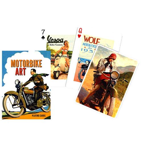 Motorkerékpárok römi kártya 55 lapos – Piatnik