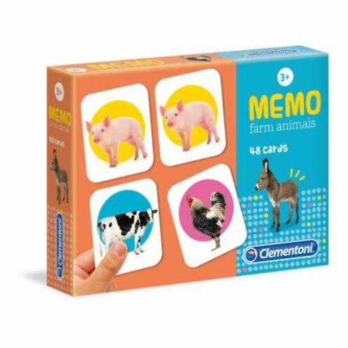 Clementoni: Farm állatai memóriajáték