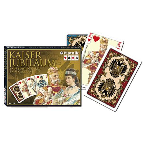 Luxus römi kártya – Kaiser Jubiläum 2×55 lap – Piatnik