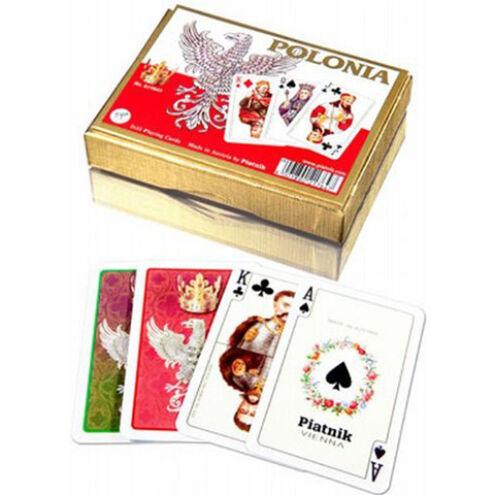 Luxus römi kártya – Lengyelország 2×55 lap – Piatnik