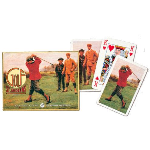 Művész römi kártya – Golfozó fiúk 2×55 lap – Piatnik
