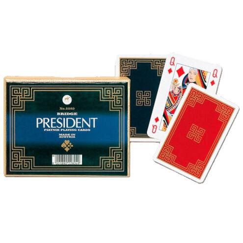 Művész römi kártya – President 2×55 lap – Piatnik