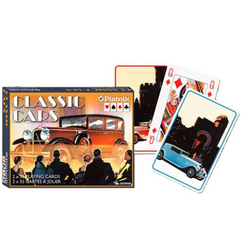Művész römi kártya – Klasszikus autók 2×55 lap – Piatnik