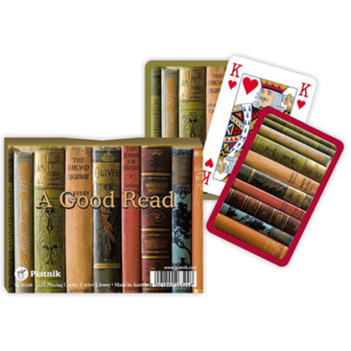 Luxus römi kártya – A Good Read 2×55 lap – Piatnik