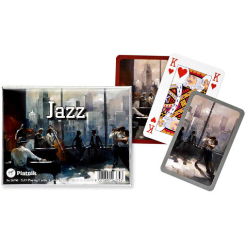Luxus römi kártya – Jazz 2×55 lap – Piatnik