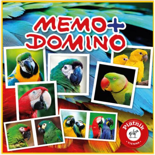 Papagájok Memo – Domino társasjáték – Piatnik