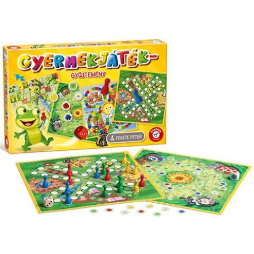 Gyermek társasjáték gyűjtemény – Piatnik