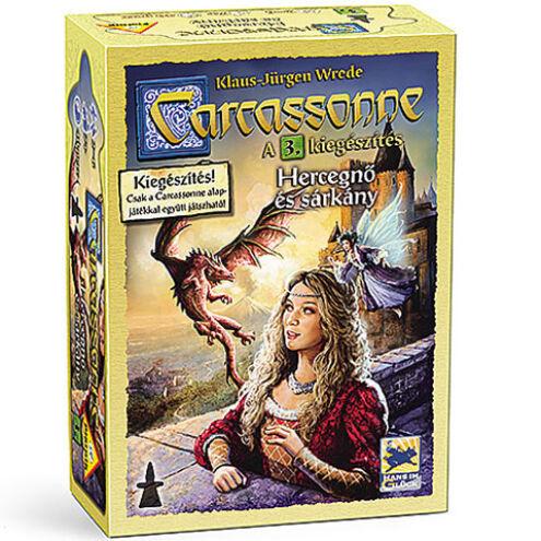 Carcassone: Hercegnő és sárkány társasjáték kiegészítő – Piatnik