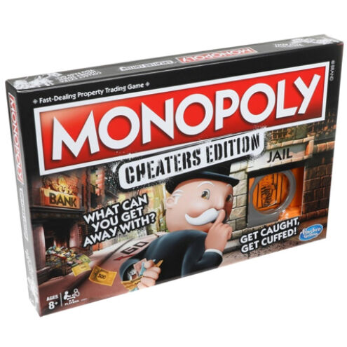 Monopoly Szélhámosok társasjáték