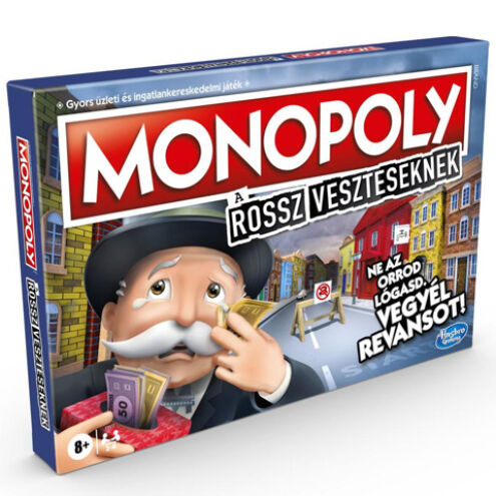 Monopoly A rossz veszteseknek társasjáték – Hasbro