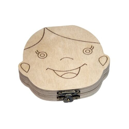 Fiús Tejfogtartó dobozka