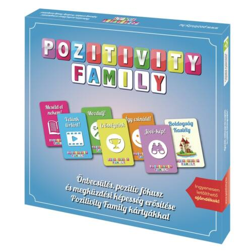 Pozitivity Family családi beszélgetős kártyajáték